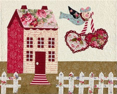 shabby fabric houses buscar con google colcha casas pinterest fabrics house and search