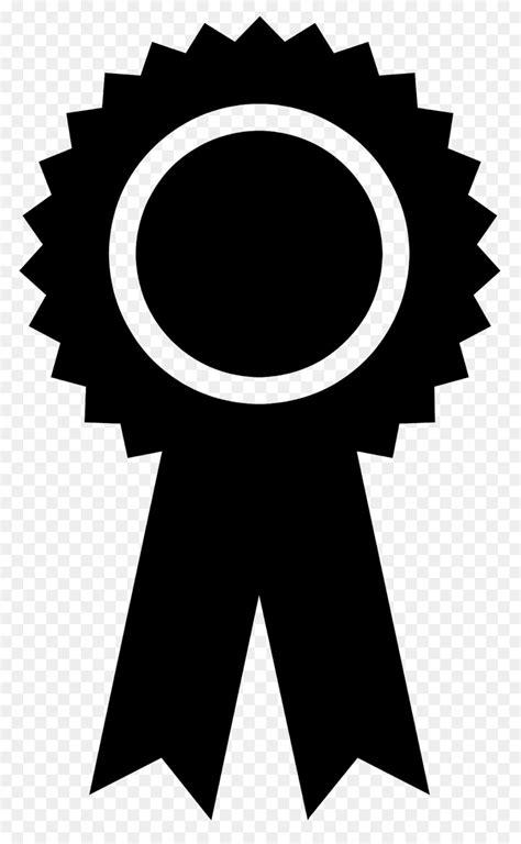 silhouette ribbon clip art rosette vector png