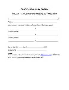 proxy forms template clarens tourism forum agm proxy form clarens news