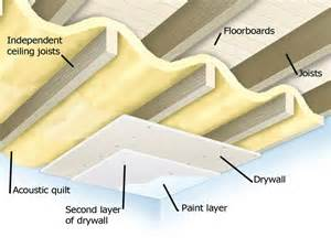 using independent ceiling joists expose the existing