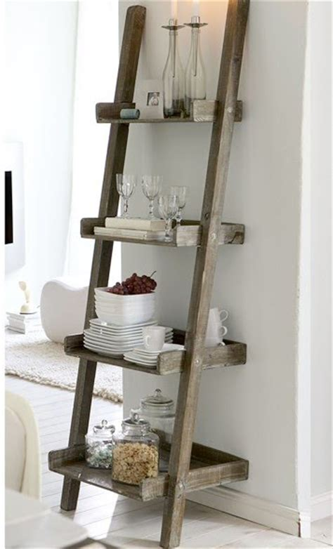 diy ladder shelves diy project a ladder shelf