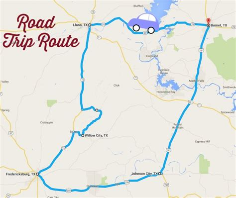 texas wildflower map road trips the daytripper