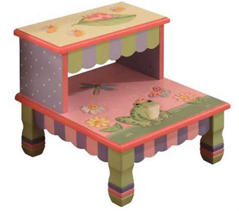 child step stool dreamfurniture com teamson kids girls step stool magic
