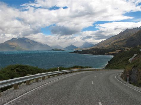 drive queenstown to glenorchy glenorchy drive f19 nz frenzy south island new zealand