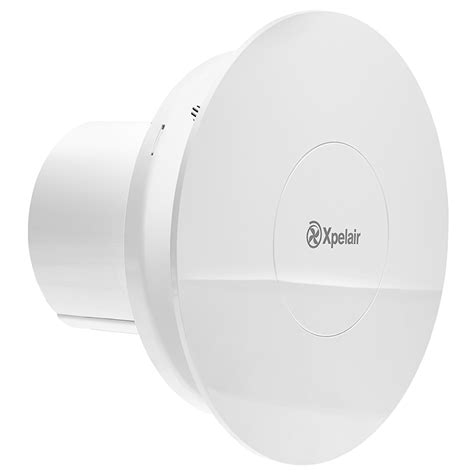 humidistat for bathroom fan xpelair c4htr simply silent contour 4 quot 100mm round