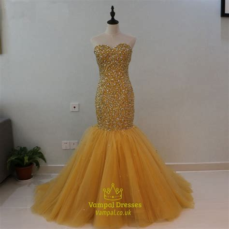 tulle dropped waist prom dress with beaded bodice style strapless beaded bodice tulle bottom dropped waist mermaid