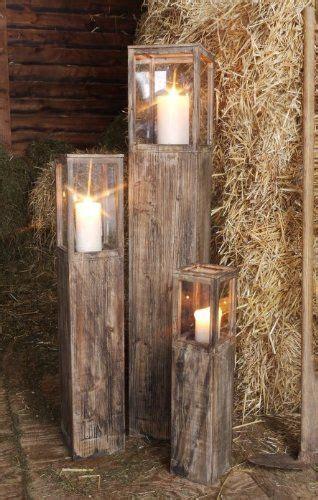 Tempat Lilin Kayu Wood Candle Holder Handmade Lilin Besar Satuan windlichtset holzlaterne braun laterne 3 er set de garten kleingarten und garten