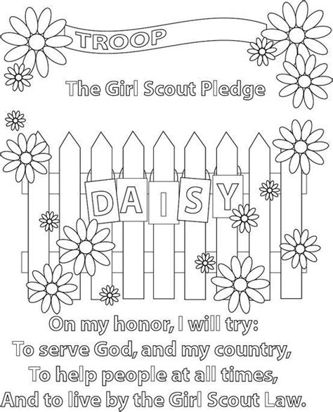 25 Best Ideas About Girl Scout Promise On Pinterest Scout And Promise Coloring Pages