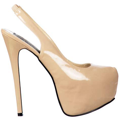 slingback high heels onlineshoe slingback high heel concealed platform stiletto
