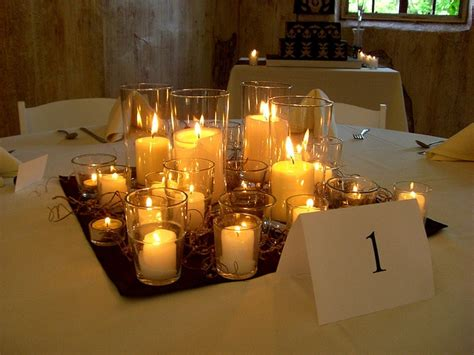 wedding reception no candles 24 best images about wedding candle centerpieces on