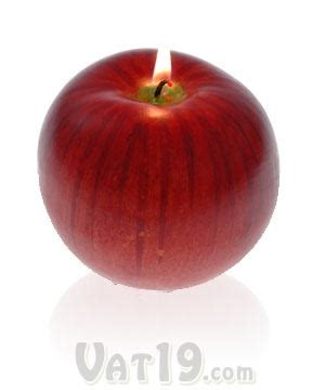apple scents apple scented candle
