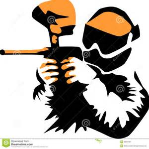 paintball stock vector image 39581067