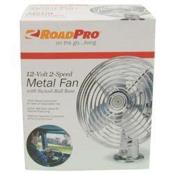 12 volt heavy duty metal fan roadpro rp 1179 12 volt heavy duty metal fan truckers