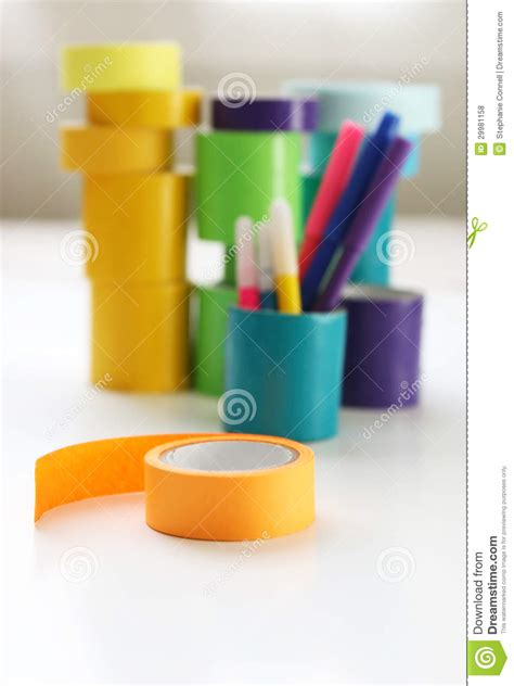colorful duct colorful craft and duct royalty free stock photos