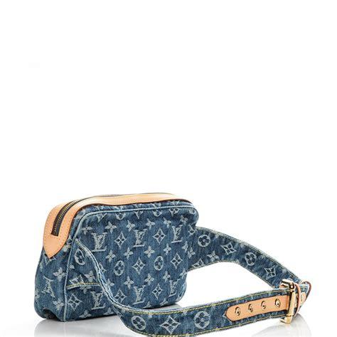 Louis Vuitton Denim Bum Bag louis vuitton denim bum bag blue 205719