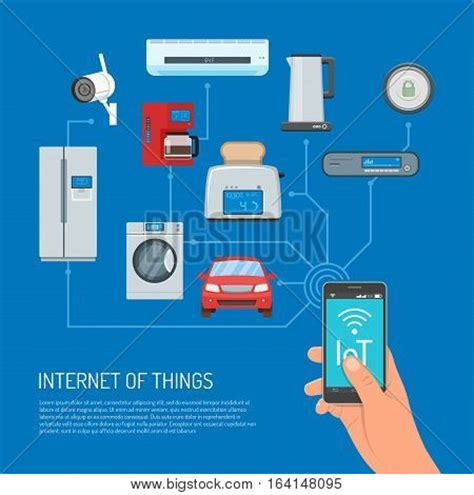 of things vector concept illustration human