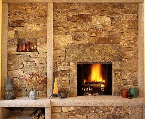Rock Fireplace Wall by Fireplaces Search Decor Ideas