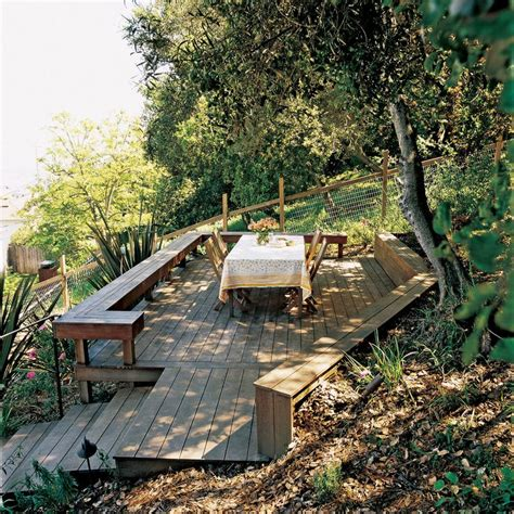 building a deck on a sloped backyard best 25 steep backyard ideas on pinterest steep