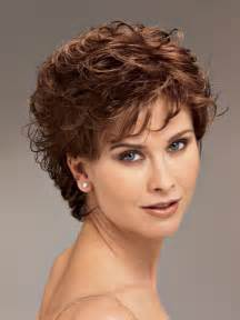 hairstyles for 50 with wavy hair short curly hairstyles for women over 50 fave hairstyles