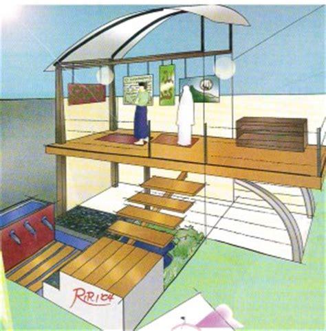 membuat mushola  rumah panggung  atas dapur  gambar desain model rumah minimalis