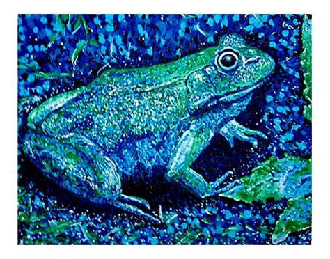 painting cool colors color palette canvas gcse