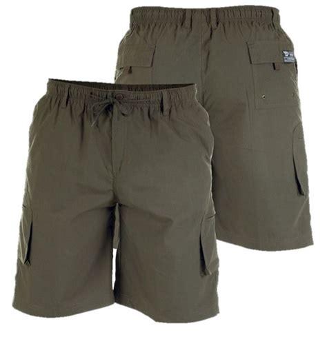 mens king size cargo shorts big clothing stretch