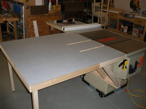 table saw extension table plans pdf woodworking