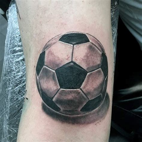football tattoo 90 soccer tattoos for sporting ink design ideas