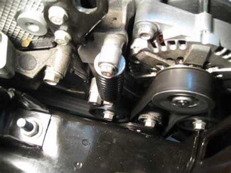 saturn vue green  hybrid bas belt auto stopstart youtube