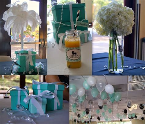 baby & co theme. Breakfast at tiffany decor by www