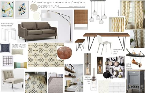 how to be interior designer creating an interior design plan mood board burger