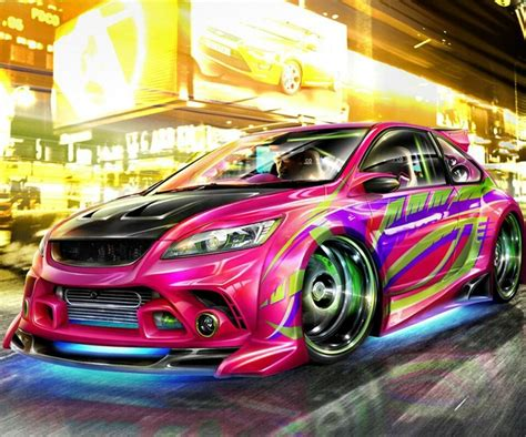 colorful cars colorful car awesome sauce