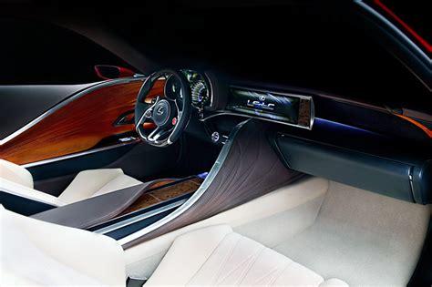 lexus lf lc interior lexus lf lc coupe concept at detroit auto