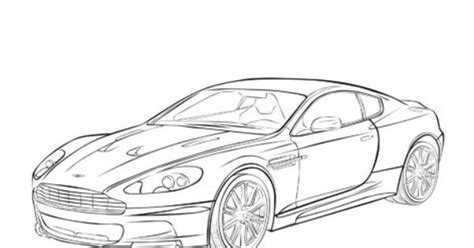 aston martin dbs cars coloring pages cars coloring