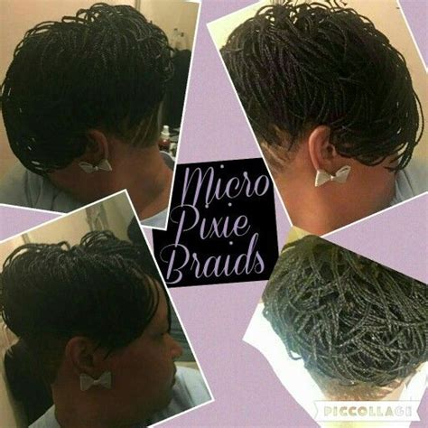 Pixie Braids Hairstyles by 45 Best Images About Micro Braids On Mondays