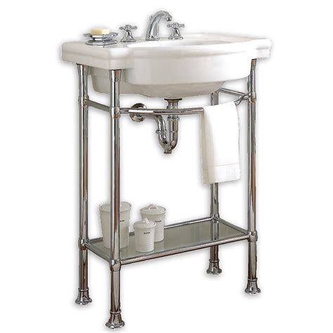 27 inch legs american standard retrospect console with bathroom