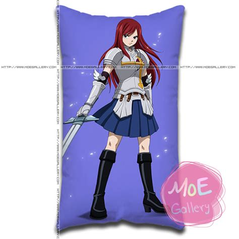 erza scarlet standard pillows covers style a