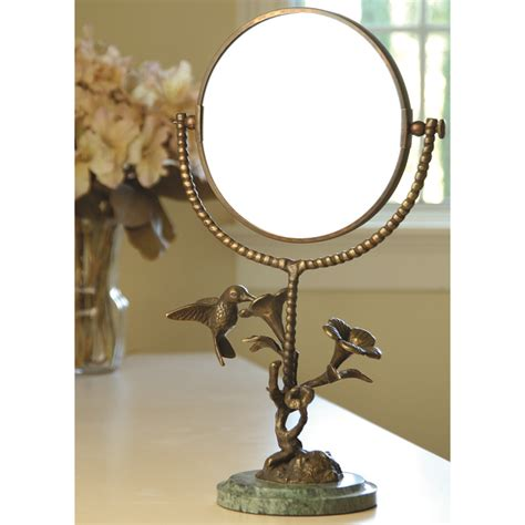 hummingbird flower mirror by spi home 128 you save 37 00