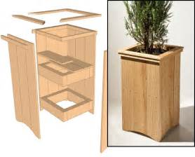 outdoor cedar planter woodwork city free woodworking plans