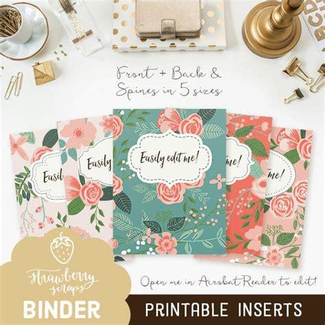 binder insert template best 25 binder inserts ideas on binder