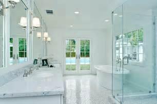 White Bathroom Lighting Great Decoration White Bathroom Design