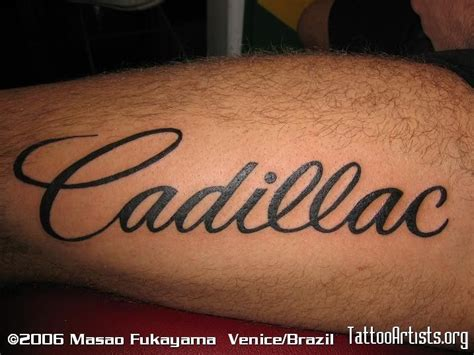 Cadillac Tattoos by 199 Best Cadillac Accessorizing Images On