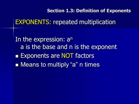 sectionalism definition exponents repeated multiplication sliderbase