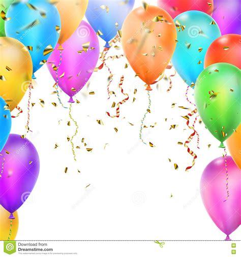 imagenes en blanco de cumpleaños plantilla para el feliz cumplea 241 os eps 10 ilustraci 243 n del