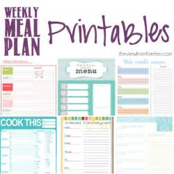 menu planner template free printable printable meal plan templates calendar template 2016 free printable kids menu template images