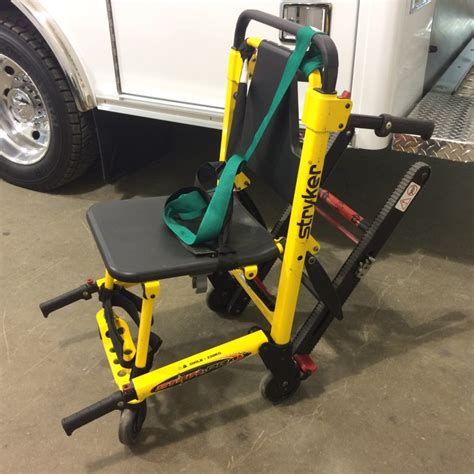 Stryker Stair Chair by Arrow Manufacturing Inventory Ambulance Chassis Parts