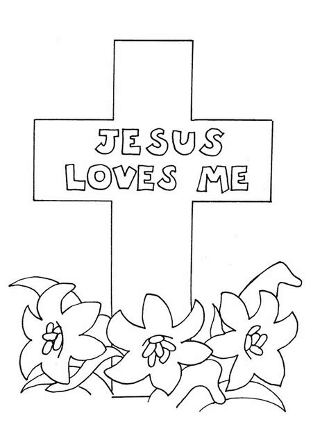 Easter Story Coloring Pages Coloring Home