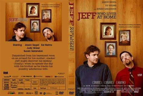 jeff who lives at home dvd custom covers jeff