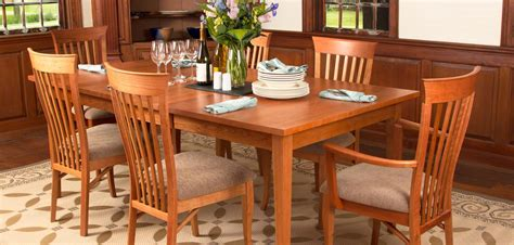 shaker dining room set shaker dining tables vermont woods studios