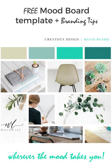 free board templates create a mood board free template strategic